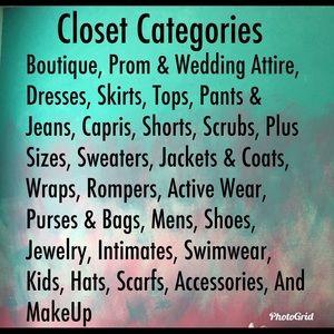 Dresses & Skirts - Closet Categories
